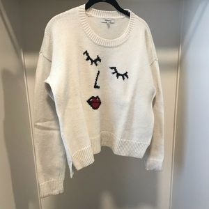Madewell Knit Graphic Sweater